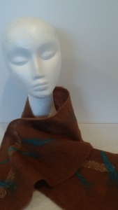 felted scarf $30NZD