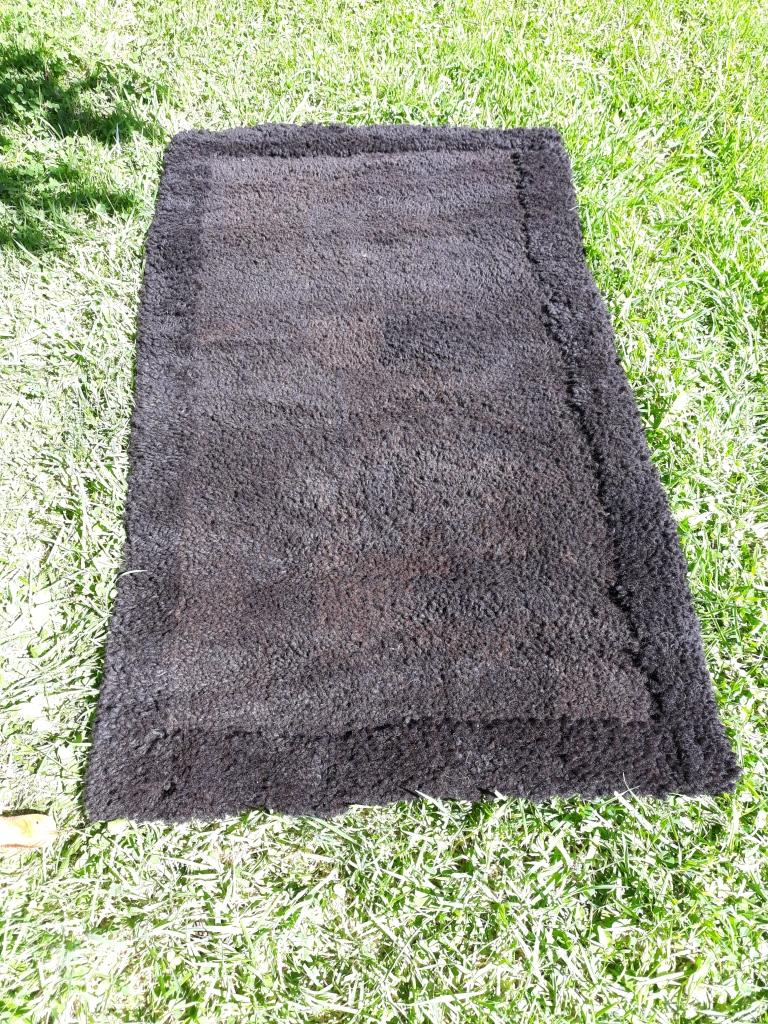hand knotted alpaca fibre floormat 110cm x 70cm $345 NZD